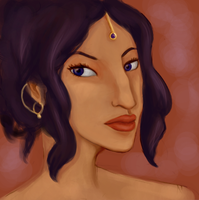Amani - Portrait by MissusHow