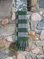 A Slytherin Scarf of Sorts by Mechanical-Dragon