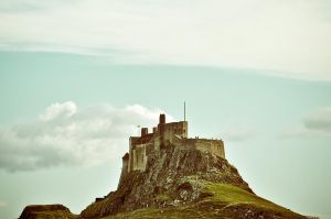 Lindisfarne Castle by scribbleXcore