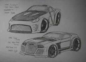 Scorcher and Torque Twister by Ricky47