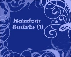 Random Swirls 1 by Lou012