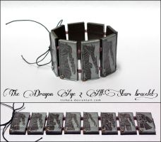 The Dragon Age 2 All Stars bracelet by tishaia