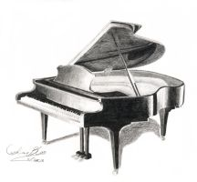Piano by Yueishi