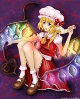 Flandre Scarlet coloured ver. by JulikXGirl