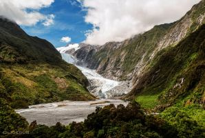 New Zealand - Franz Josef glacier by olideb08