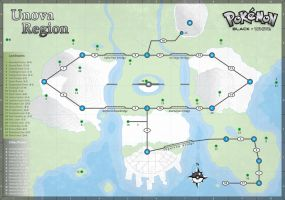 Unova Map by cow41087