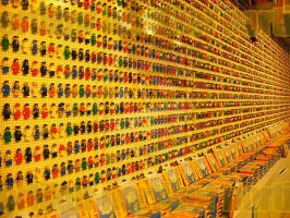 Lego-People Wall by Nortiker
