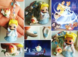 Cinderella charm commission by mayumi-loves-sora