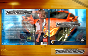 NFS UnderGround CD Cover by archnophobia