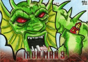 Iron Man 3 - Fin Fang Foom by 10th-letter