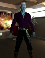 Andorian Captain by timberoo