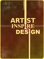 Artist, Inspire, Design by Laxaria