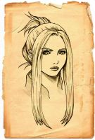 final fantasy VIII:quistis by gin-1994