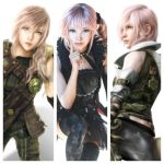 Lightning New Look (LR : FF XIII)  and Lumina by DJoeliantofarron