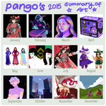 2015 summary of art by PangoPango1