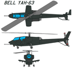 Bell YAH-63 by bagera3005