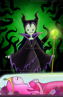 Maleficine by NikkiWardArt