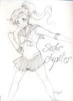 Sailor Jupiter by thebumblebee01
