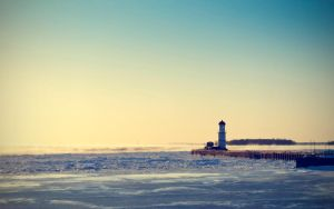 A frozen lighthouse 2 by mxmbulat