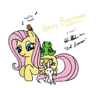 Fluttershy for Flutters by RedApropos