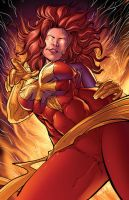 Dark Phoenix Colors by DashMartin