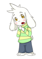 Asriel by BoxerBoxy