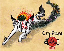 Cry Plays: Okami HD by Wolfdare