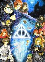 Harry Potter: The Deathly Hallows by Larinelle