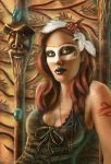 Voodoo princess by ftourini