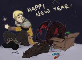 Happy New Year! by erwil