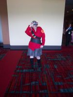 CTcon '12 - RED Soldier by TEi-Has-Pants