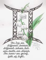 Gemini Lily of the Valley by D-Angeline
