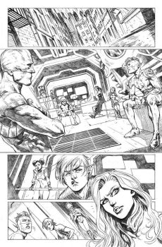 Teen Titans #16 Page 1 by mikemaluk