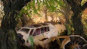Crashed Plane by mehdel