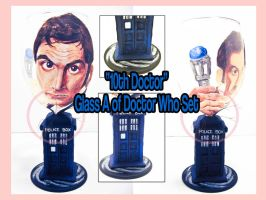 '10th Doctor' Pt.A Wine Glass by ForesakenFaerie