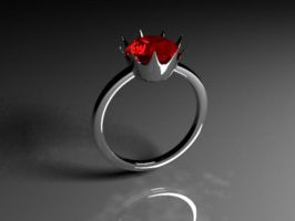 Ruby Ring by mesanger