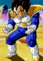 Vegeta Kaied up by BK-81