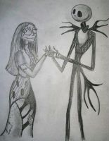 Jack and Sally by UdjatInked