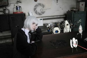 GLaDOS russiaworks cosplay sadness by Tenori-Tiger
