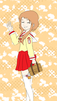 Matsumi school girl by my-name-is-totoro