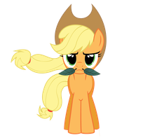 Applejack by SparkPonies