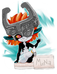 Midna Shows Her Pretty Little Soles by hofit-mil