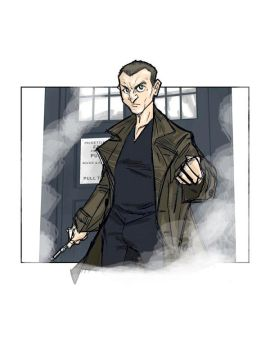 The 9th Doctor Who by Hodges-Art