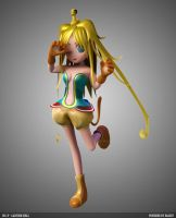 Cartoon Girl W.I.P by tuziibanez