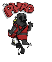 The Pyro by Wolf-Shadow77