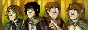 Hobbits by SIIINS