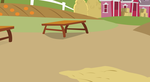MLP FIM Background-Sweet Apple Acres Yard by PieIsAwesome3123