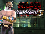 Tekken 5:DR - King II by Vertifier234