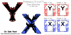 X And Y Tees by Kafae-Latte