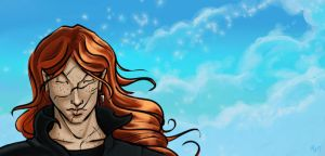 Bill Weasley Dreaming 2 by The-Starhorse